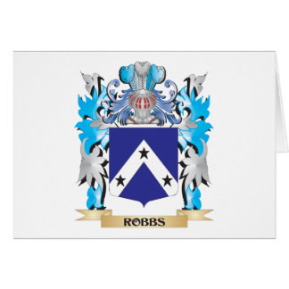 Robbs Coat of Arms - Family Crest Greeting Card