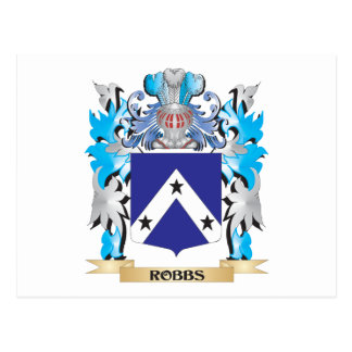 Robbs Coat of Arms - Family Crest Postcard