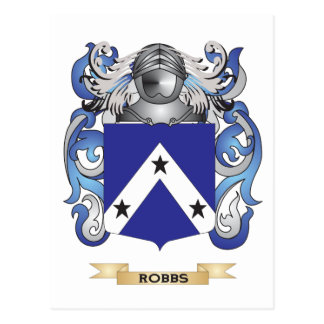 Robbs Coat of Arms (Family Crest) Postcard