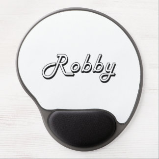 Robby Classic Retro Name Design Gel Mouse Pad