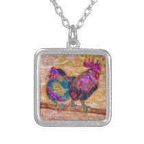 Robby Rooster Necklace