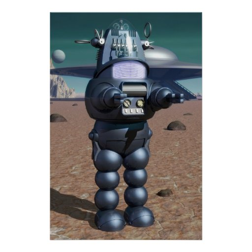 Robby the robot poster