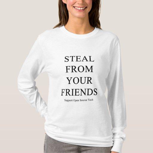 Robe de sus amigos playera