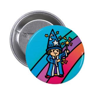 robe flair. 2 inch round button