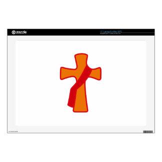 Robed Cross Laptop Skin