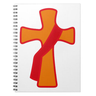 Robed Cross Notebook