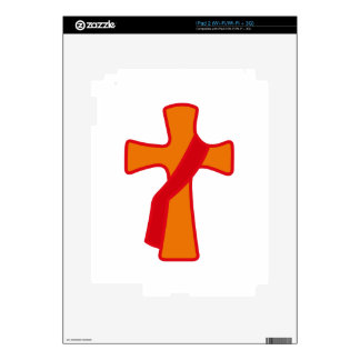 Robed Cross Skins For iPad 2