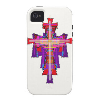 Robed Graphic Crucifix iPhone 4/4S Cover
