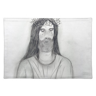 Robed Jesus Cloth Placemat