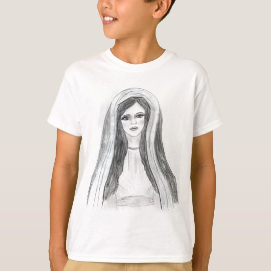 Robed Mary T-Shirt