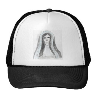 Robed Mary Trucker Hat