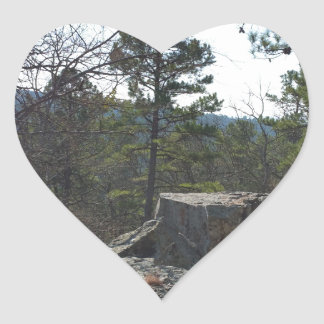 Robers Cave State Park Heart Sticker