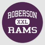Roberson - Rams - High - Asheville North Carolina Stickers