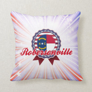 Robersonville, NC Throw Pillow