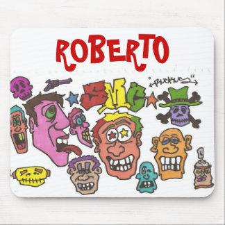 , ROBERT0 MOUSE PAD