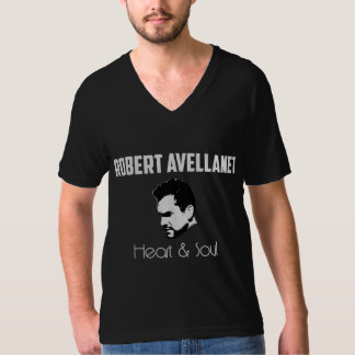 Robert Avellanet, Heart & Soul - v-neck T-Shirt