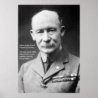 Robert Baden-Powell Poster