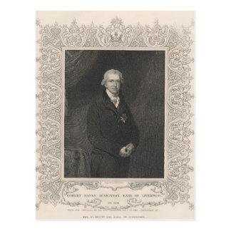 Robert Banks Jenkinson, 2nd Earl of Liverpool Postcard