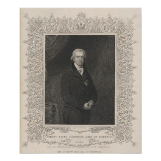 Robert Banks Jenkinson, 2nd Earl of Liverpool Poster