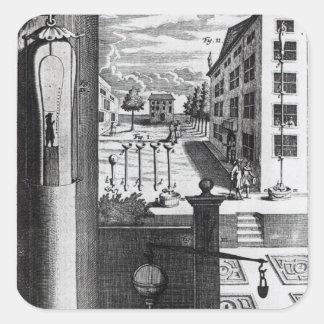 Robert Boyle's designs and ideas Square Sticker