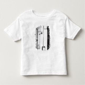 Robert Boyle's development of the water pump Toddler T-shirt