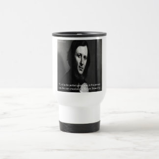 Robert Browning God Perfect Poet Quote 15 Oz Stainless Steel Travel Mug