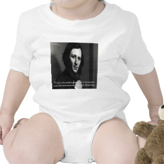 Robert Browning God Perfect Poet Quote Rompers