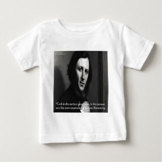 Robert Browning God Perfect Poet Quote Tshirts