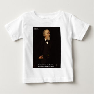 "Robert Browning ""Grow Old"" Love Quote Gifts & Tees"