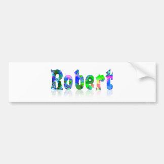 Robert Bumper Stickers