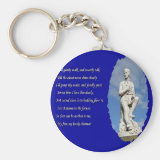 Robert Burns (1759–1796) Poems and Song Keychain