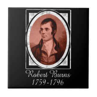 Robert Burns Azulejo Cuadrado Pequeño
