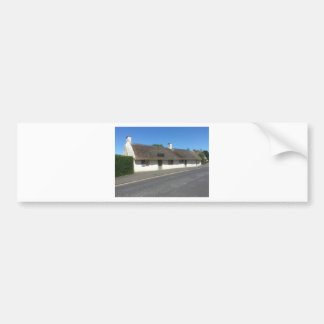 Robert Burns Cottage, Alloway, Ayrshire, Scotland Bumper Sticker