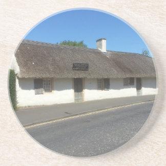 Robert Burns Cottage, Alloway, Ayrshire, Scotland Coaster