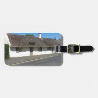 Robert Burns Cottage, Alloway, Ayrshire, Scotland Luggage Tag
