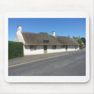 Robert Burns Cottage, Alloway, Ayrshire, Scotland Mouse Pad