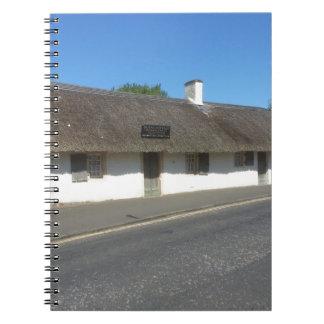 Robert Burns Cottage, Alloway, Ayrshire, Scotland Notebook