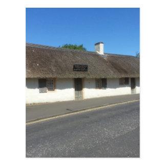 Robert Burns Cottage, Alloway, Ayrshire, Scotland Postcard