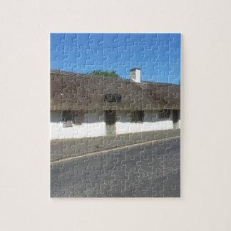 Robert Burns Cottage, Alloway, Ayrshire, Scotland Puzzle