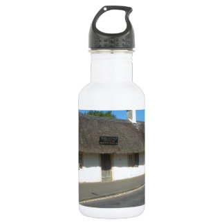 Robert Burns Cottage, Alloway, Ayrshire, Scotland Stainless Steel Water Bottle