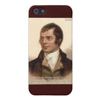 Robert Burns Famous Quote iPhone SE/5/5s Cover