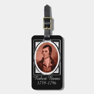 Robert Burns Luggage Tag