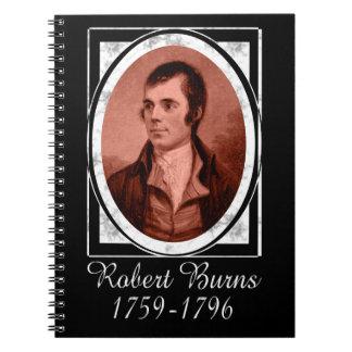 Robert Burns Spiral Note Book
