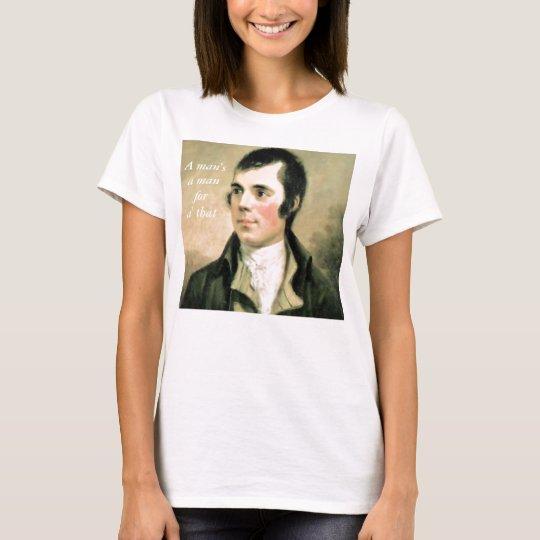 Robert Burns Portrait T-Shirt