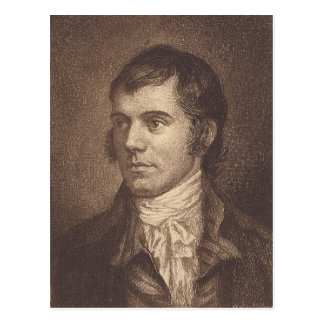Robert Burns Postcard