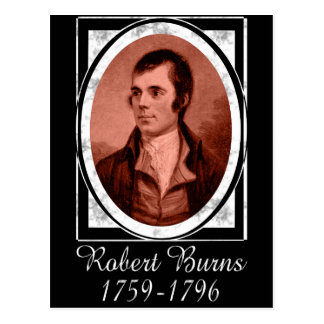 Robert Burns Postcard