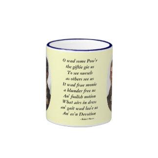 Robert Burns Some Pow'r the Giftie Gie Us Mug