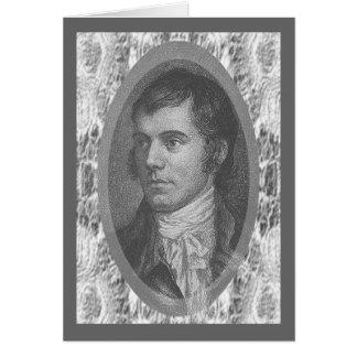 Robert Burns Tarjeta De Felicitación