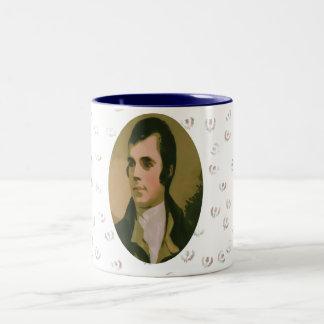 Robert Burns Thistle Mug