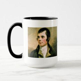 Robert Burns Vintage Portrait Gift Mug